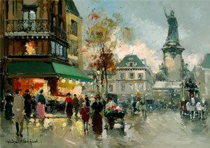 Антуа́н Бланша́р Париж