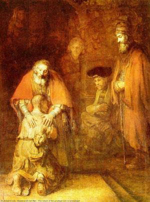 Рембранд«Возвращение блудного сына»