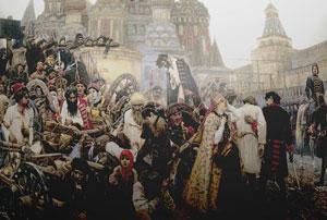 В. Суриков. Утро стрелецкой казни